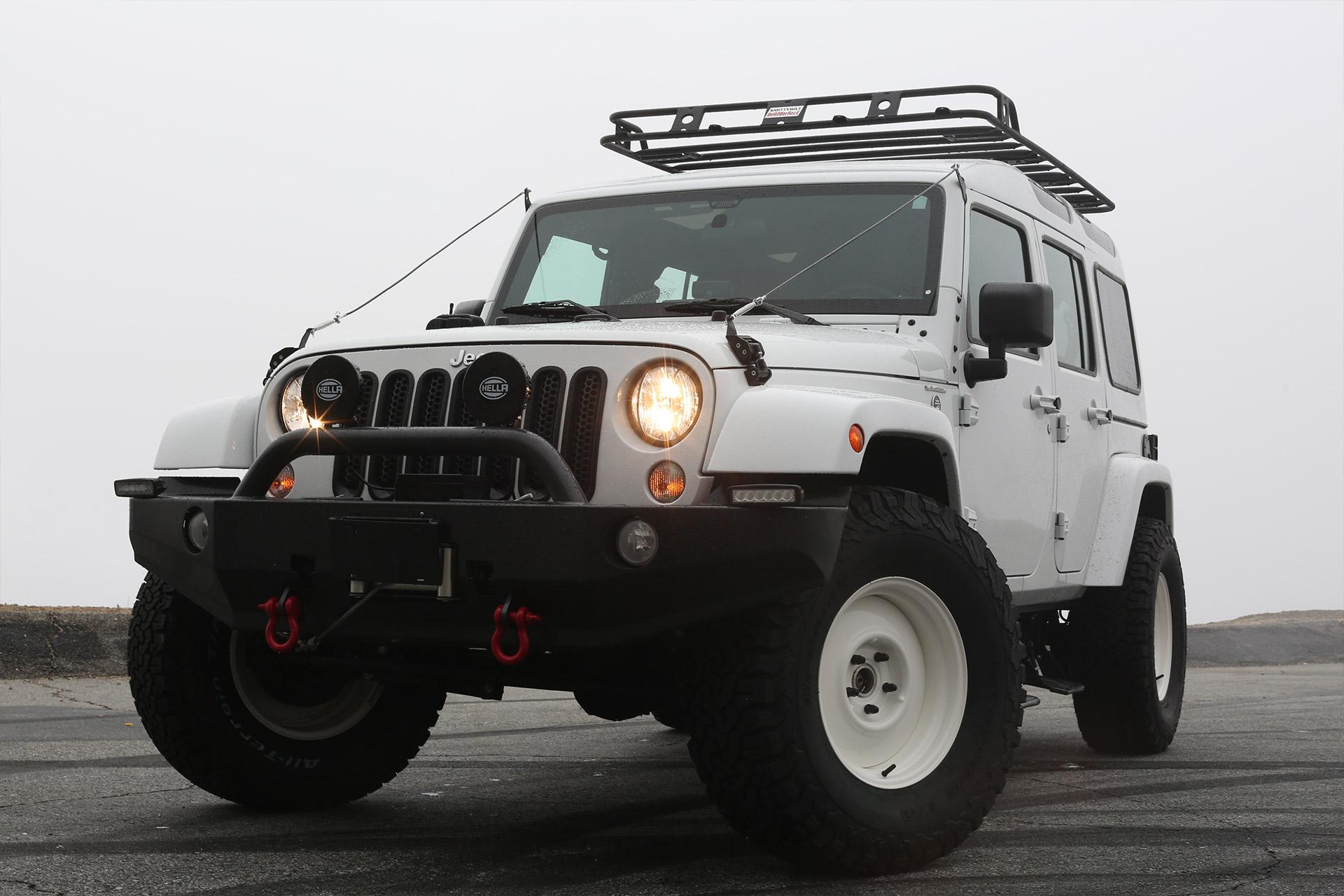 True North Jeep Wrangler SUV