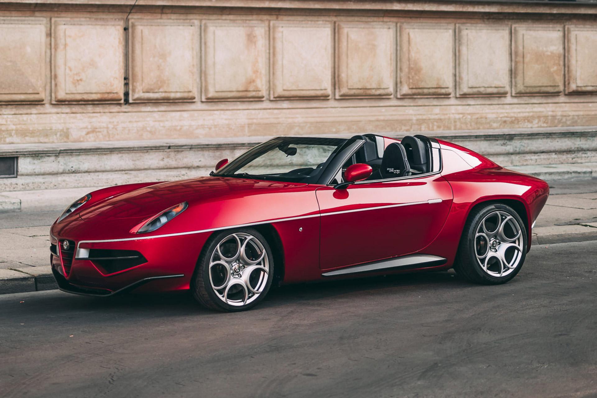 2017 Alfa Romeo Disco Volante Spyder