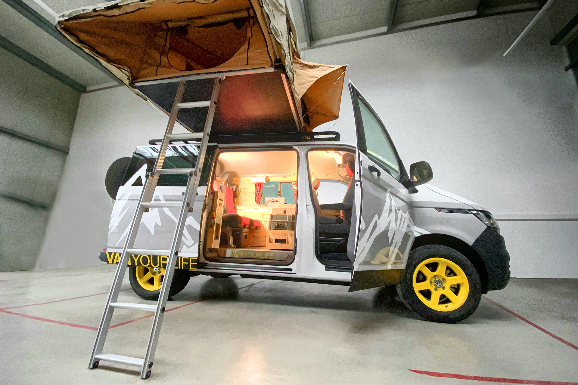 Flowcamper Casper Camper Van