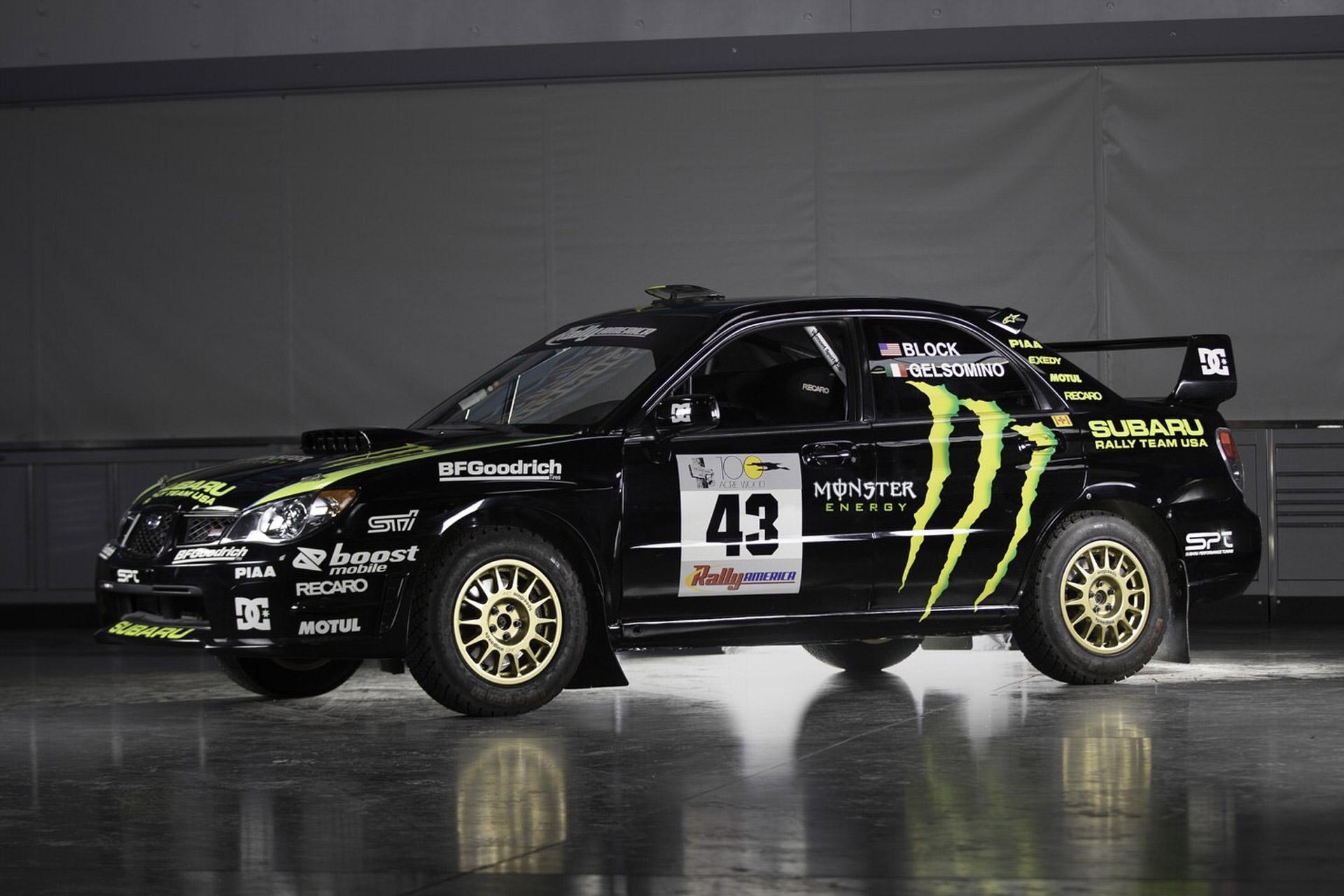 Ken Block's 2002 Subaru WRX STI Rally Car