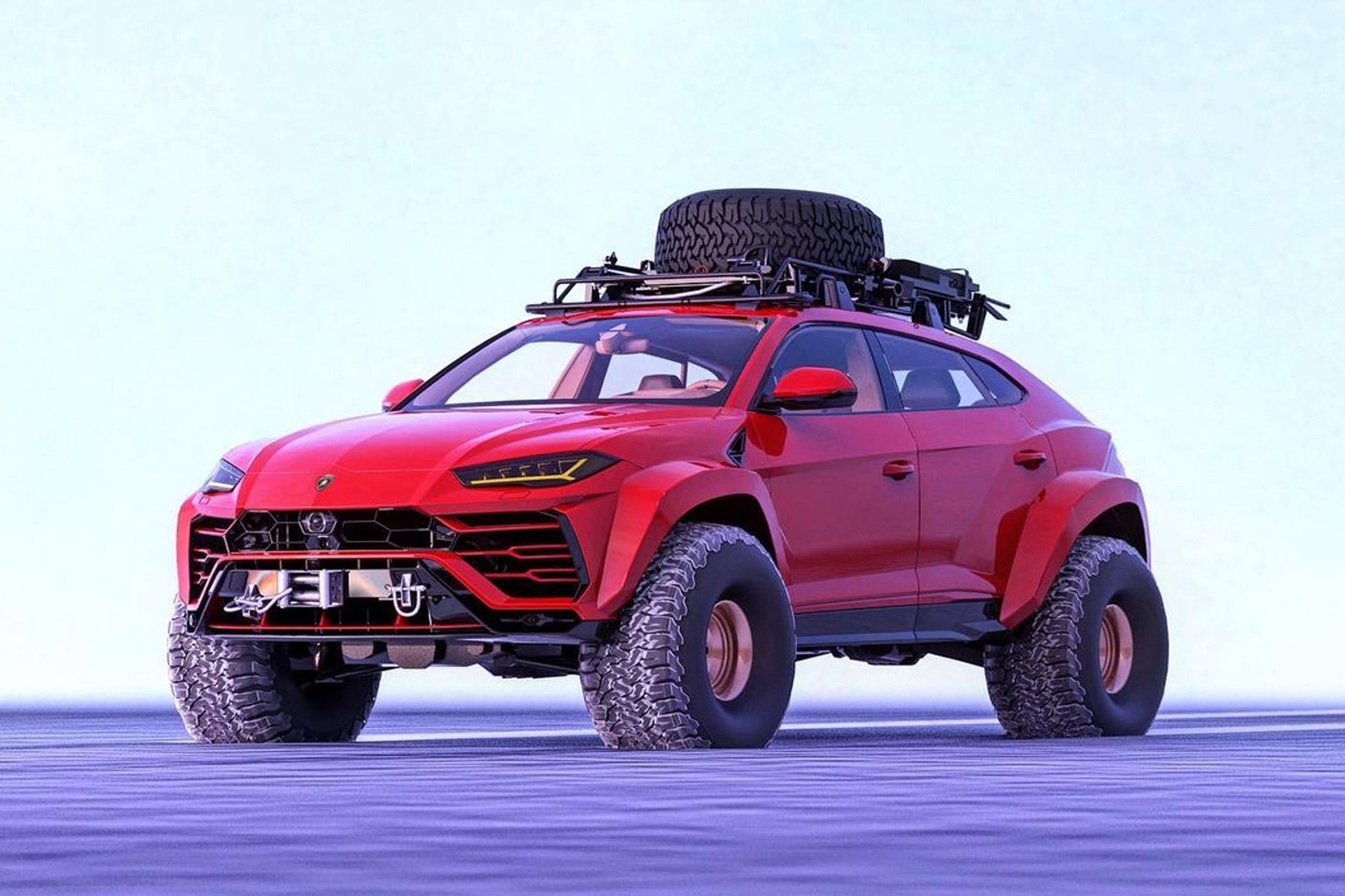 Lamborghini Urus Arctic Truck