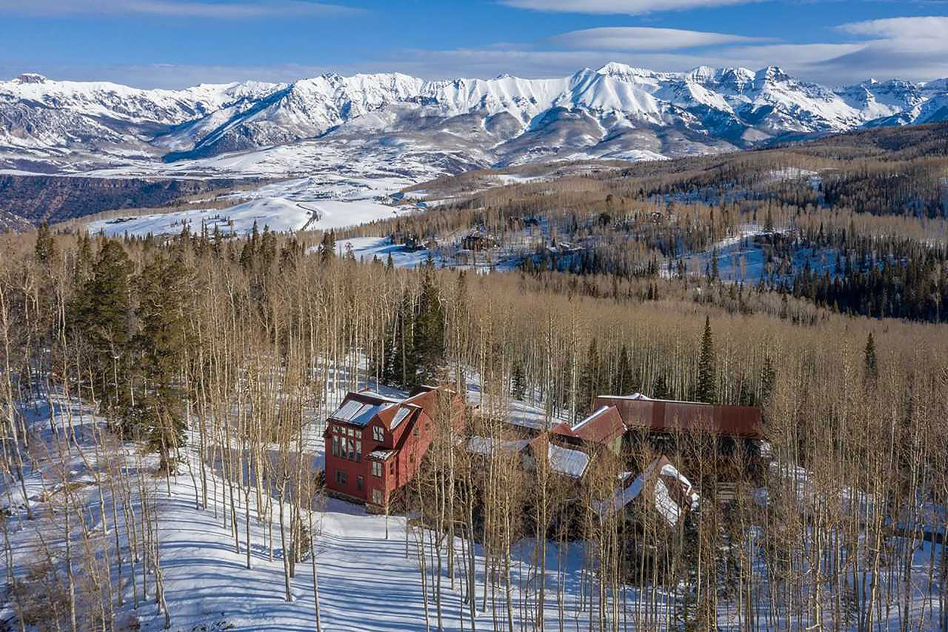 Jerry Seinfeld's Telluride Ski House