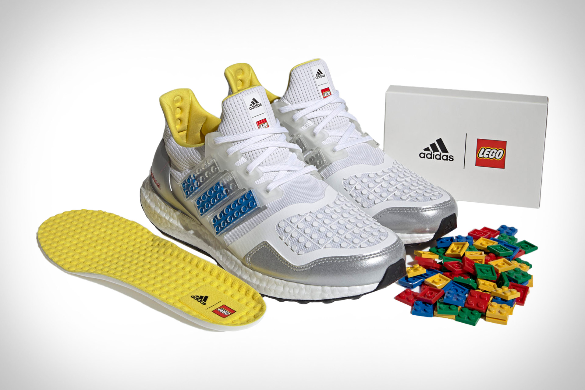 Adidas Ultraboost DNA x Lego Plate Sneakers   Uncrate