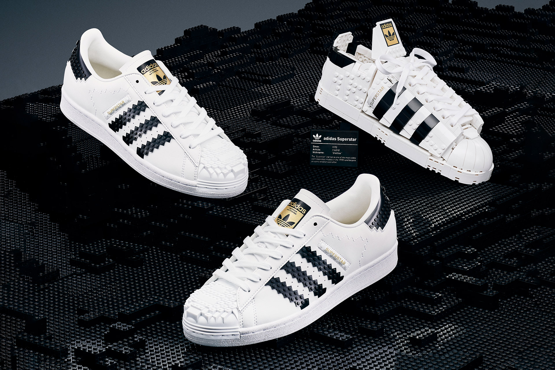 Collection Lego x Adidas Superstar   Uncrate