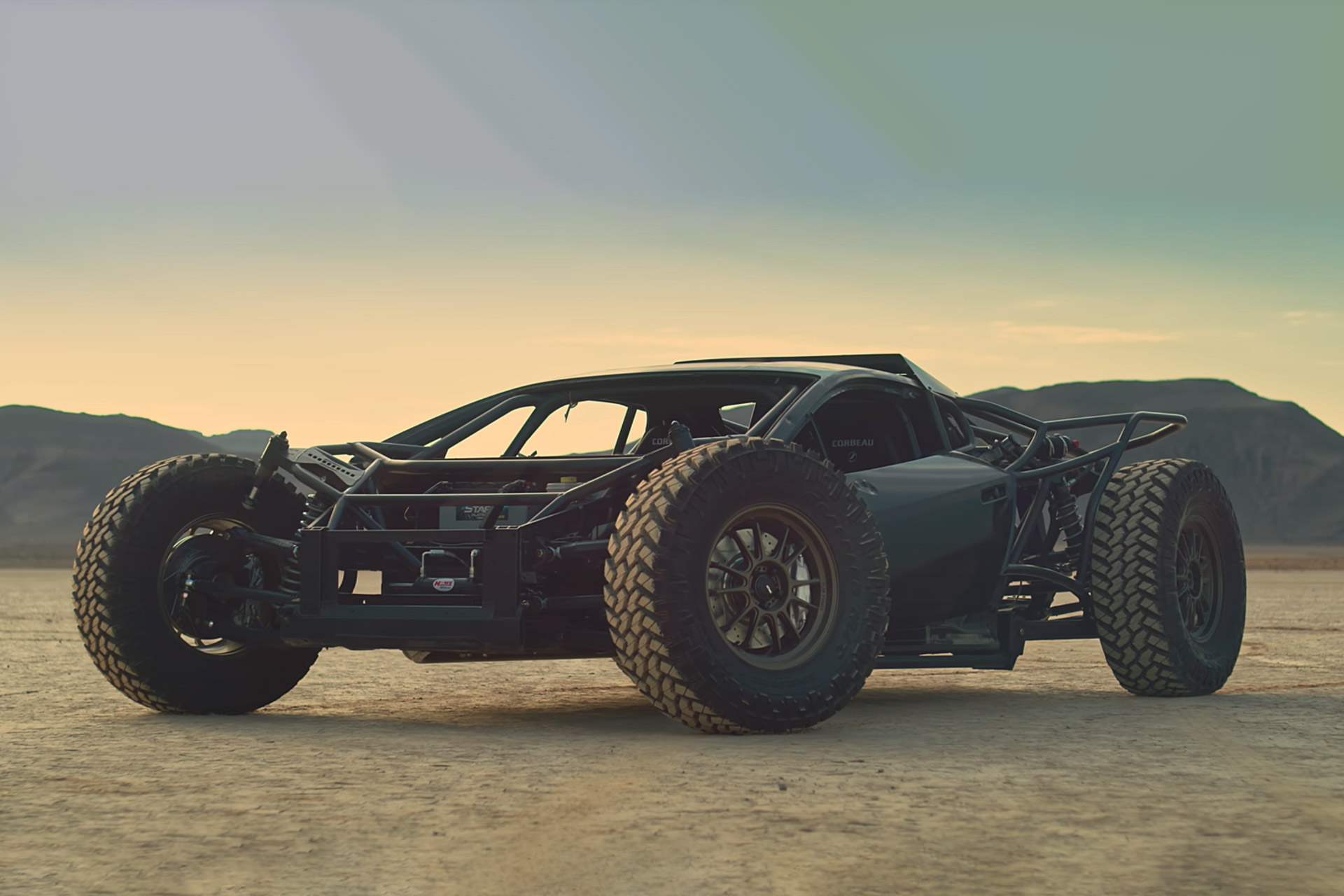 Off-Road Lamborghini Huracan Jumpacan