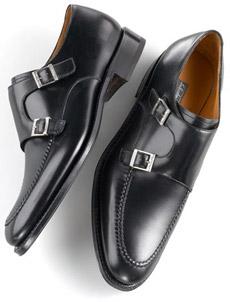 Salvatore Ferragamo Darting Monk Shoe
